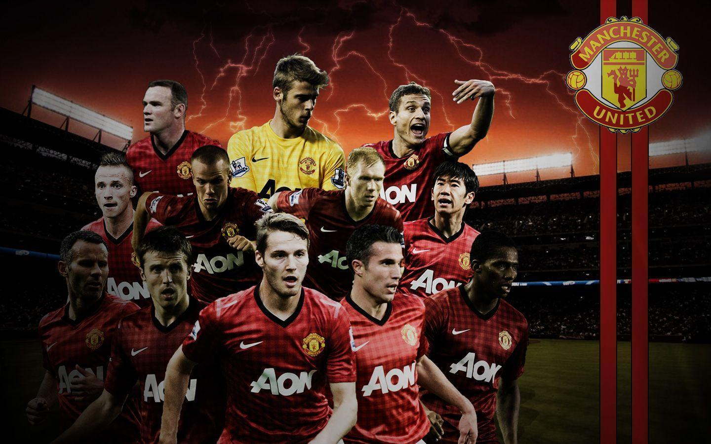 Manchester United HD Wallpapers 2017 - Wallpaper Cave