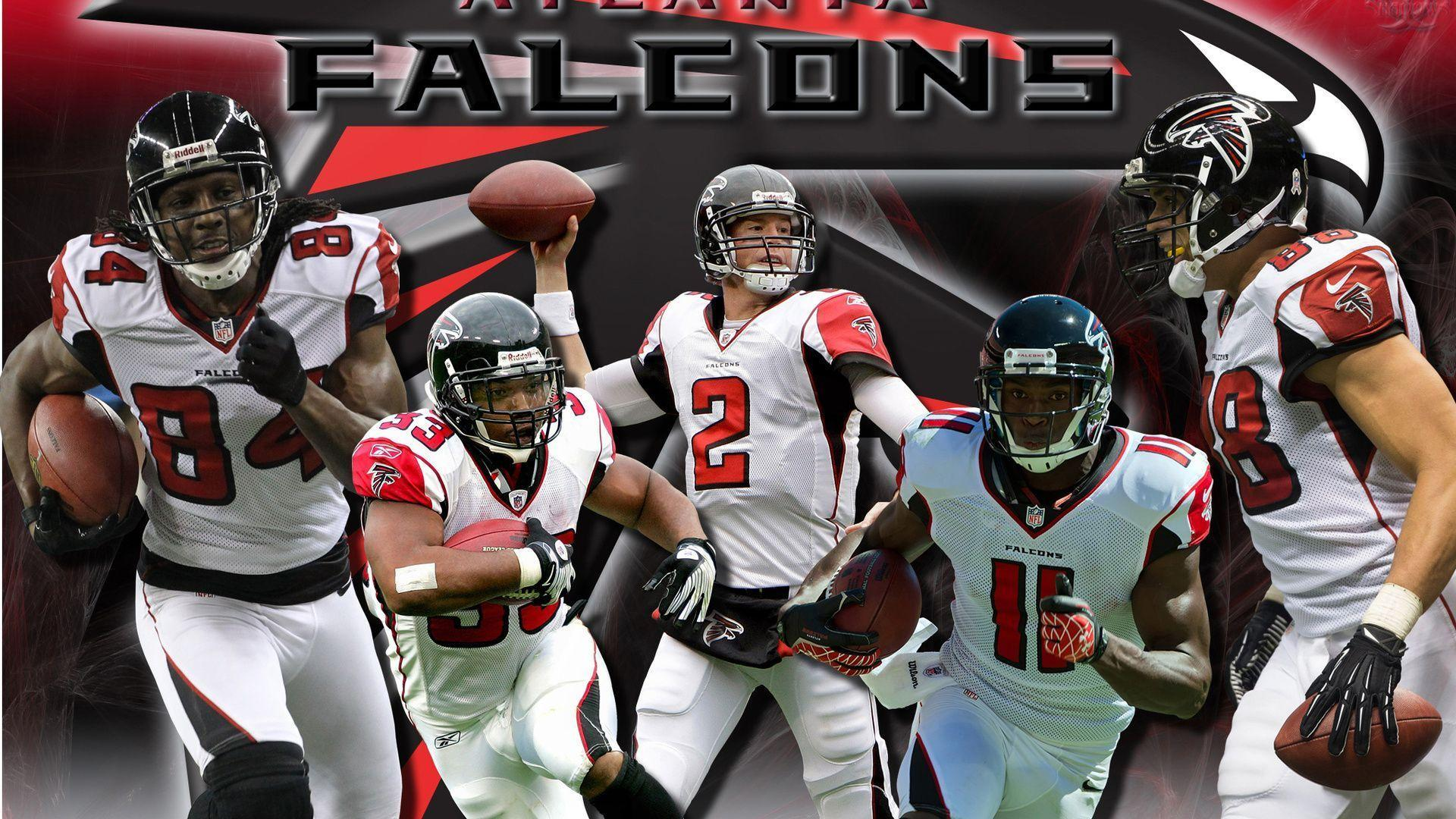 1920x1080 Nfl, Atlanta Falcons Nfl Team Players Poster, Sports