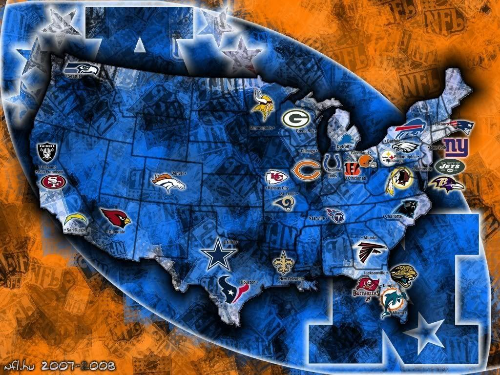 Nfl Map Wallpapers