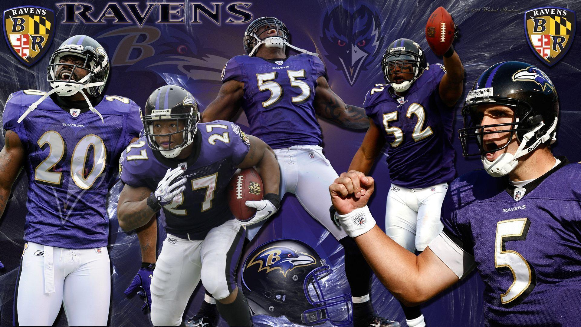 1920x1080 Nfl, Baltimore Ravens Team Players, American Football