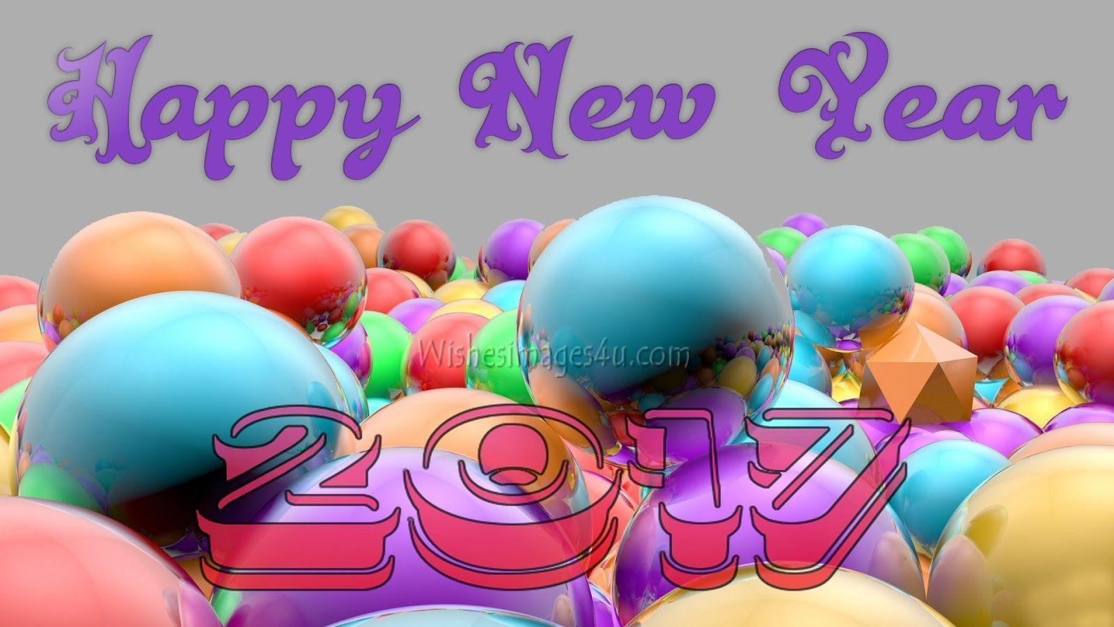 Happy New Year 2017 3D Full HD Images Download