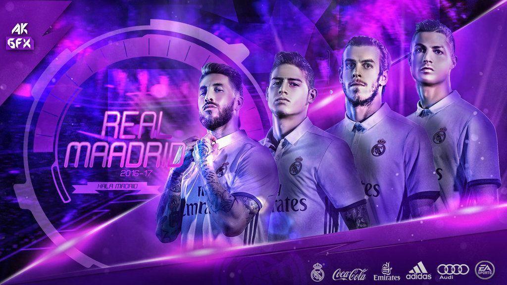 Real Madrid Team HD Images