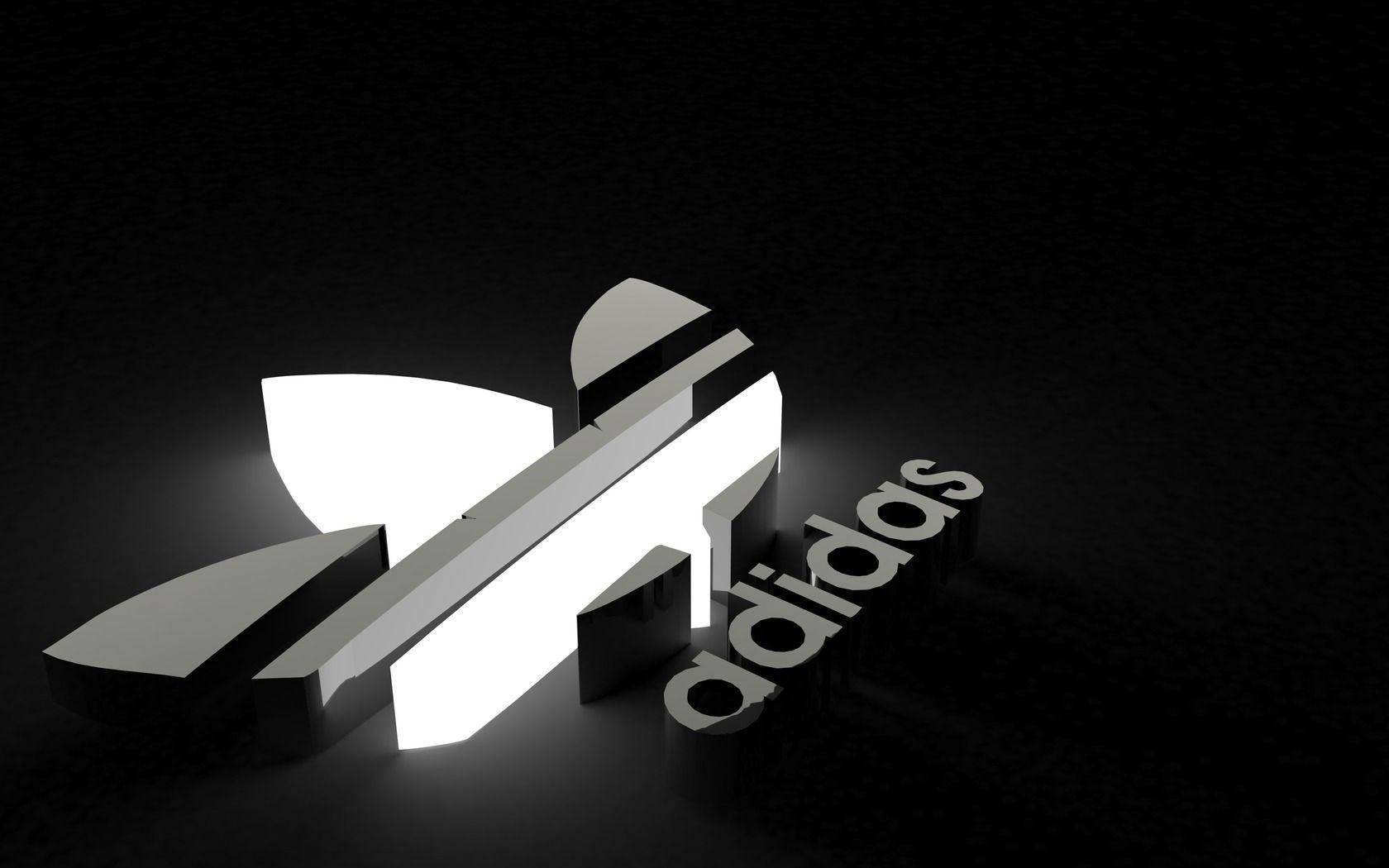 Adidas Logo wallpapers fondos de pantalla cueva 2017