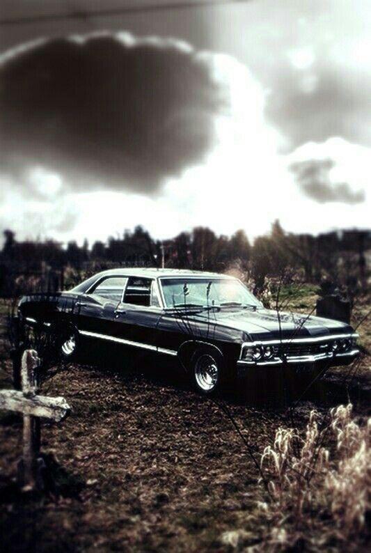 Chevrolet Impala 1967 Supernatural Wallpaper