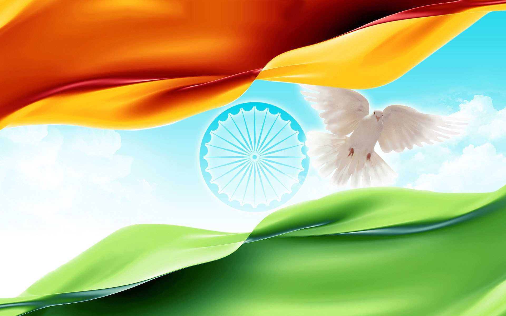 Flower With Indian Flag Hd: India Flag Wallpapers 2017