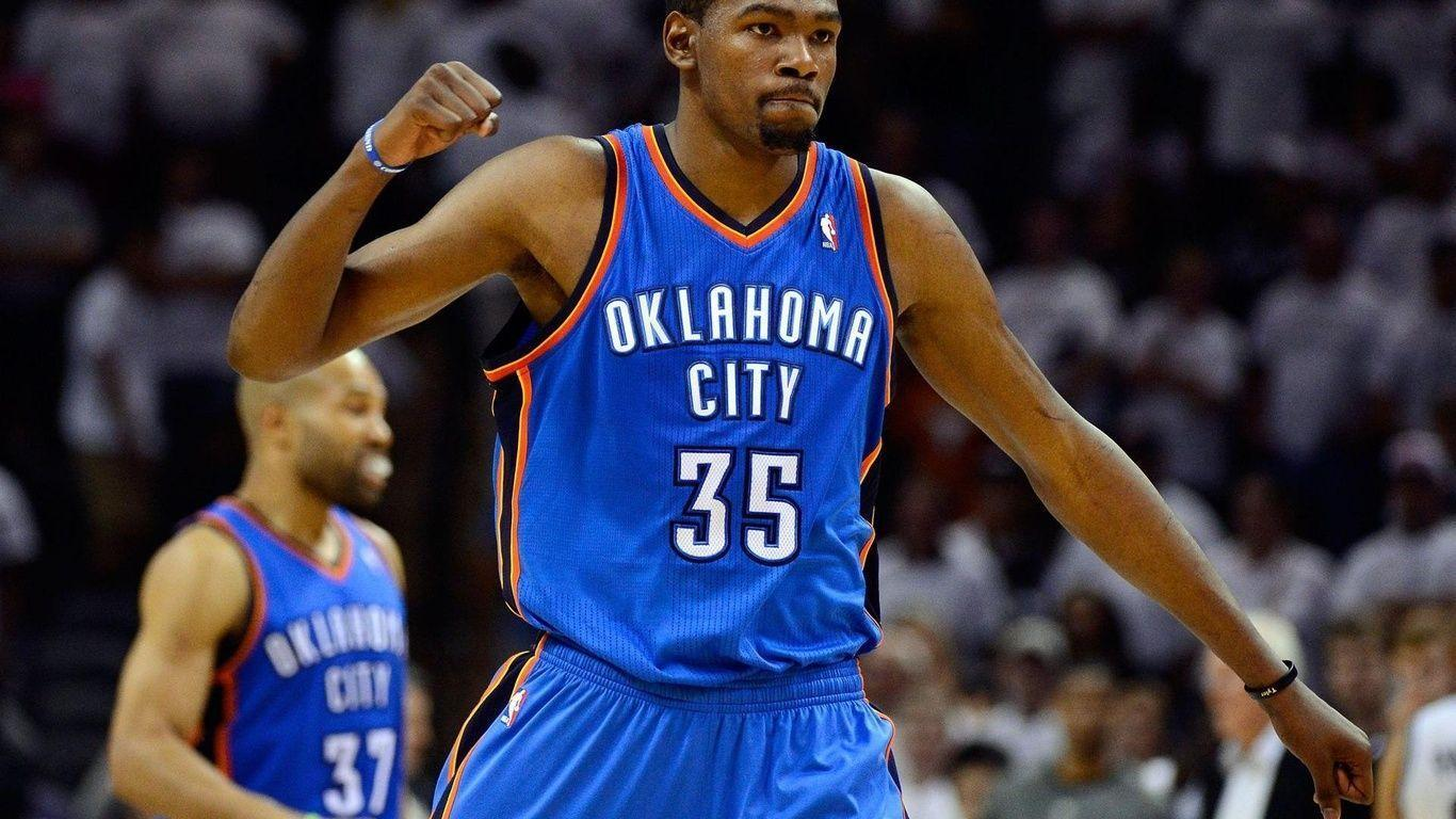 1366x768 Kevin Durant Background, Oklahoma City, Nba, Basketball