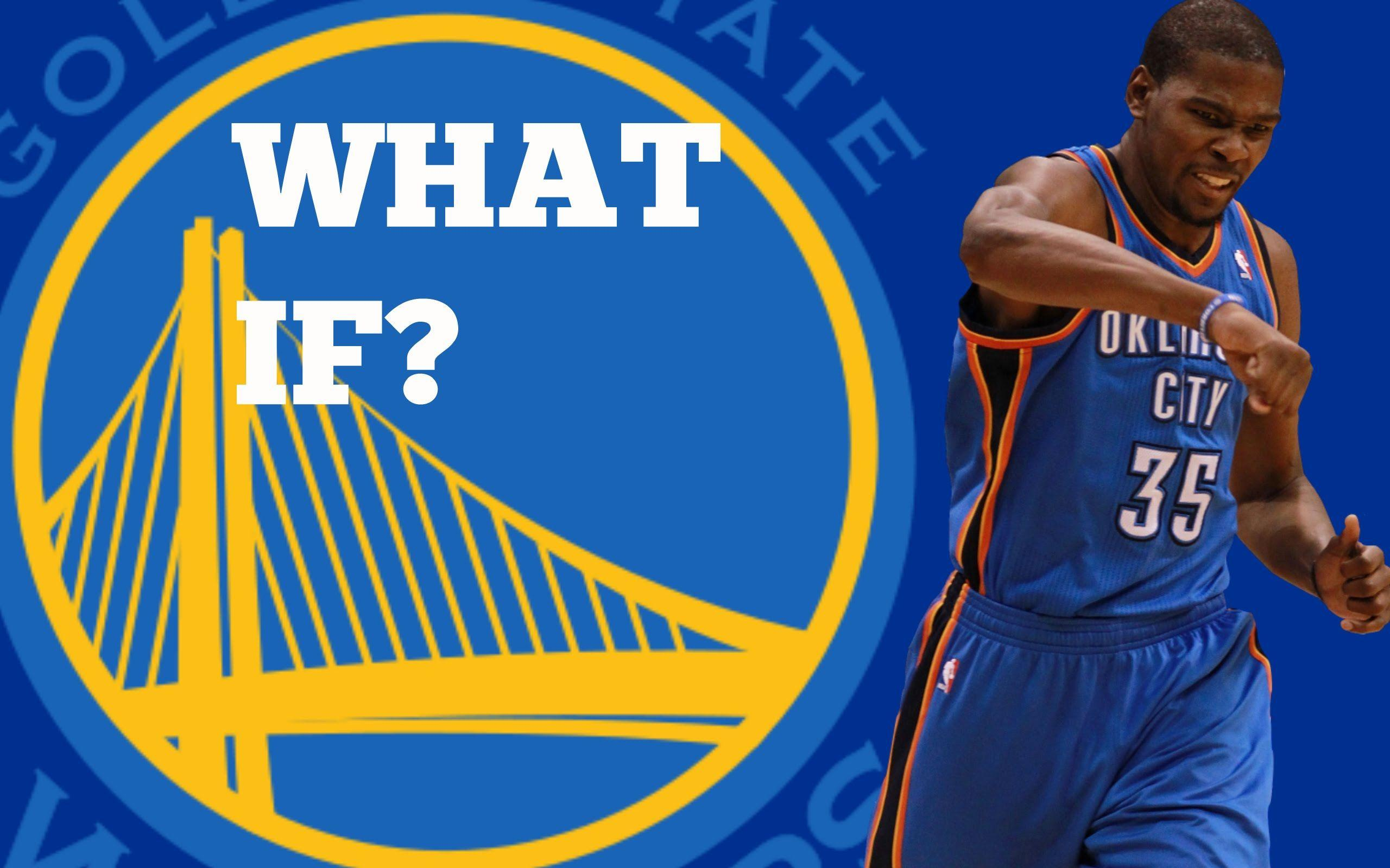 NBA 2K16: What If Kevin Durant Signs with the Golden State