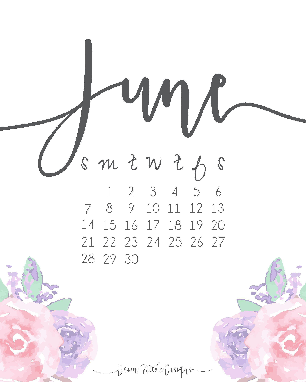 Cute November Calendar Wallpaper : Desktop wallpapers calendar june wallpaper cave