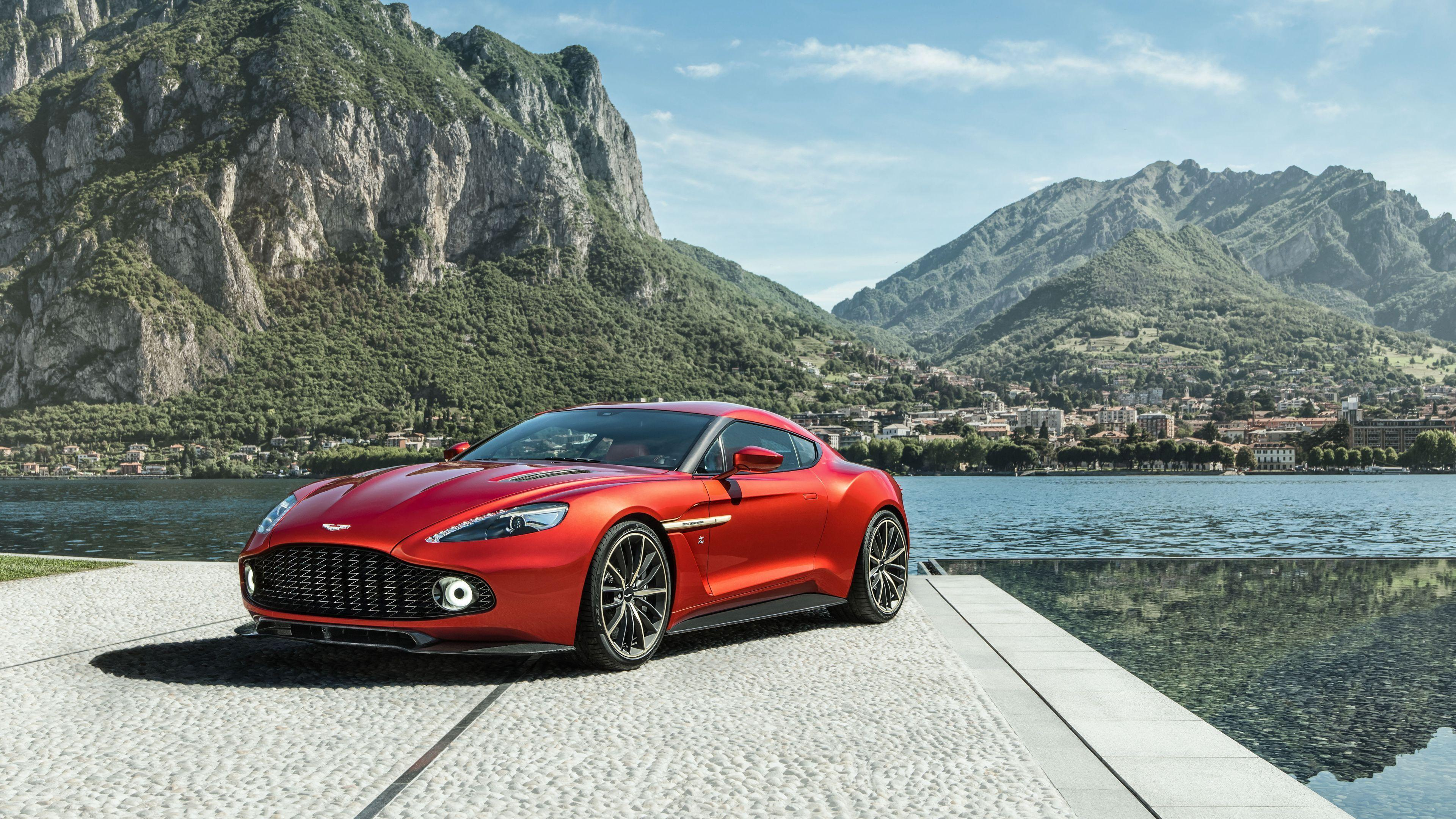 Aston Martin Vanquish 2017 Wallpapers