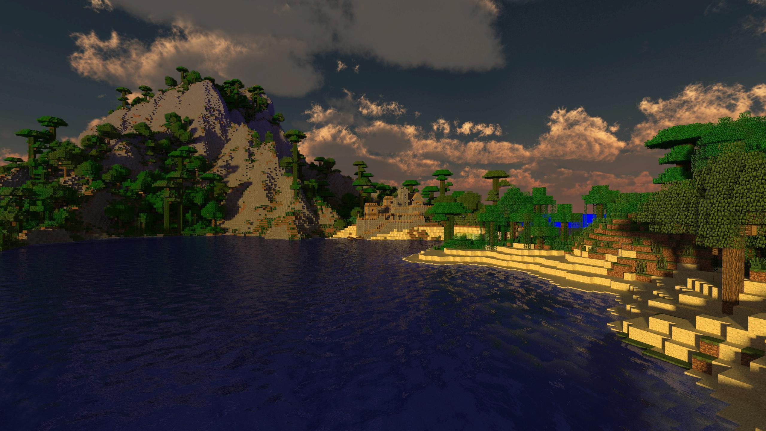 2560x1440 Minecraft Backgrounds