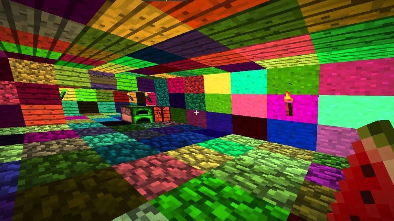 1366x768 Lsd, Minecraft, Minecraft Lsd Wallpapers and Pictures