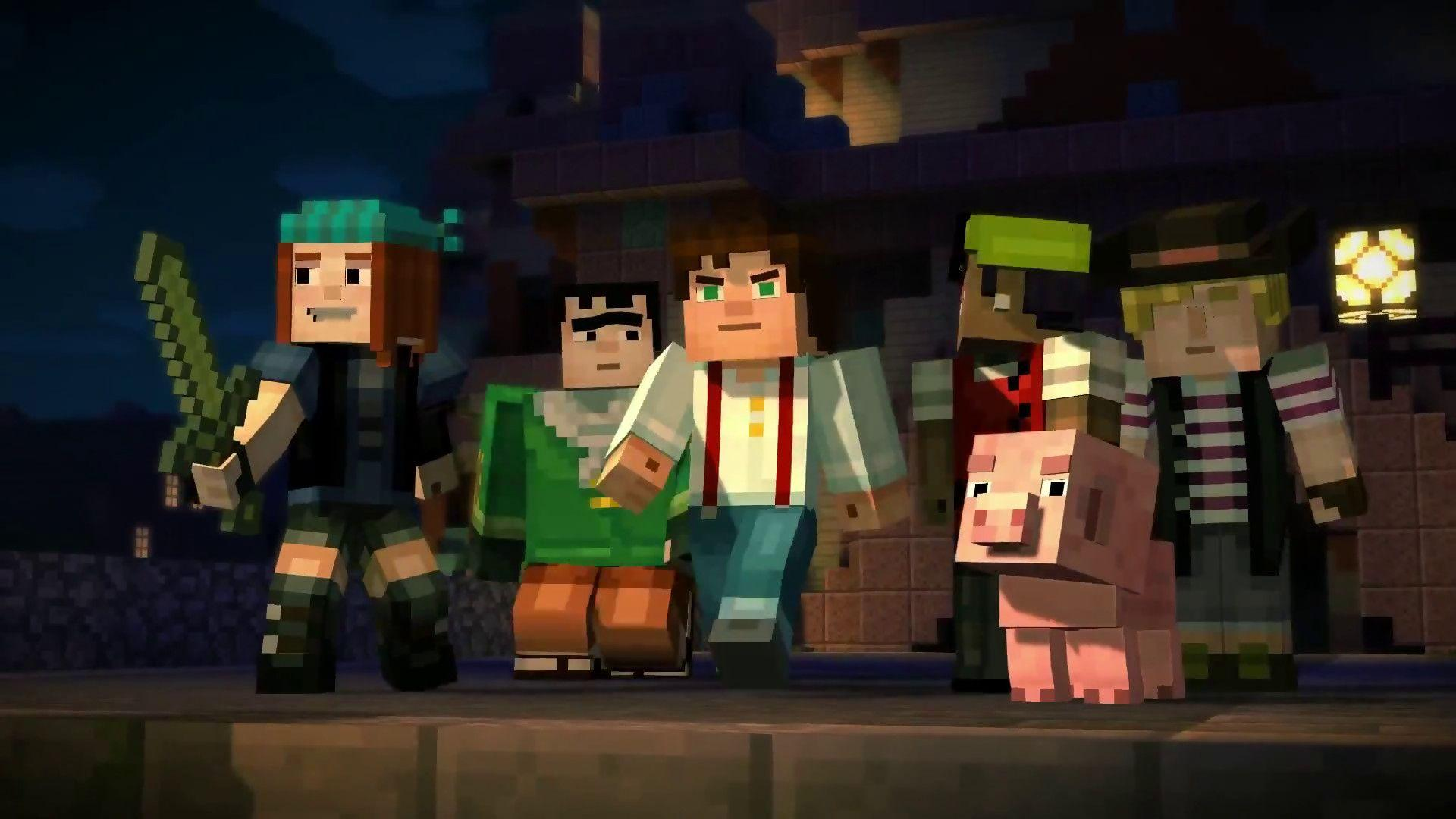Minecraft: Story Mode Available Next Month For Xbox One and PS4