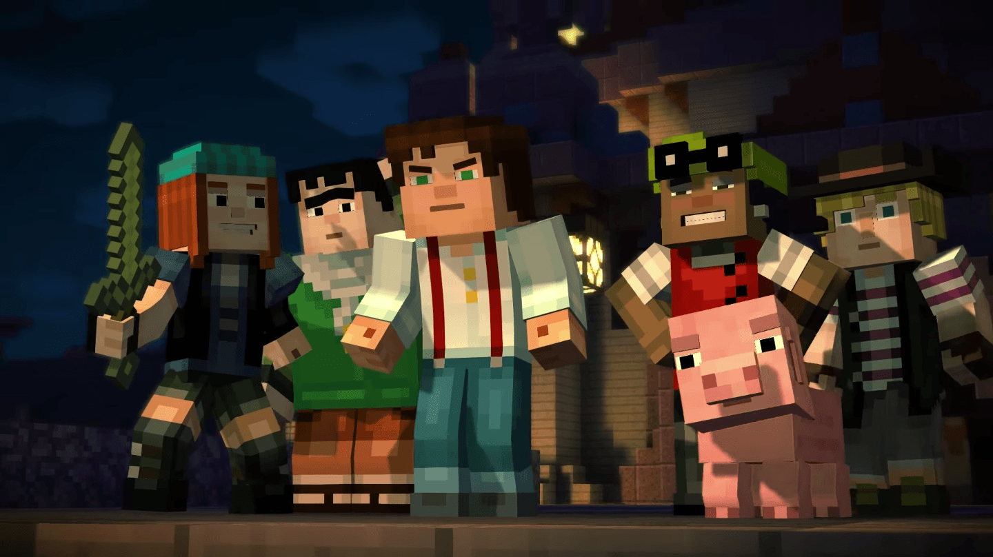 Minecraft: Story Mode is officially coming to Wii U
