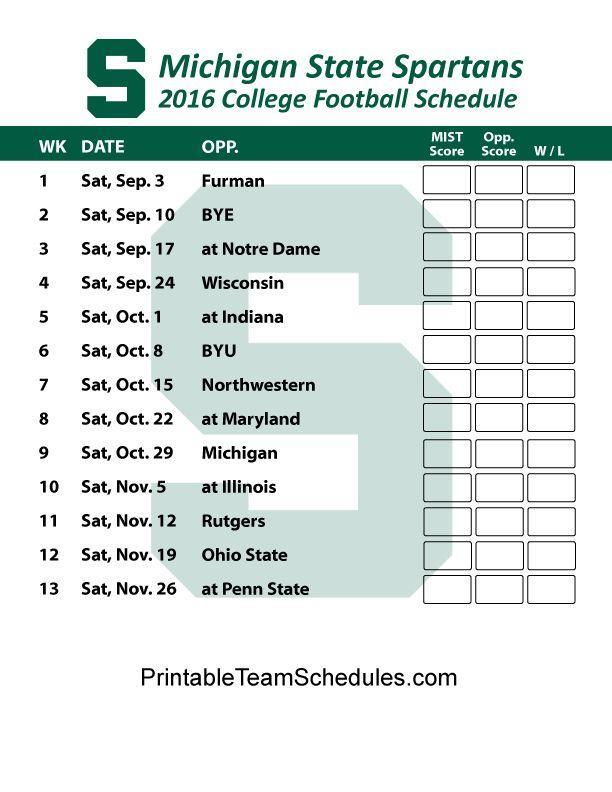 picture regarding Michigan Football Schedule Printable identify Msu Soccer Program 2017 Wallpapers - Wallpaper Cave
