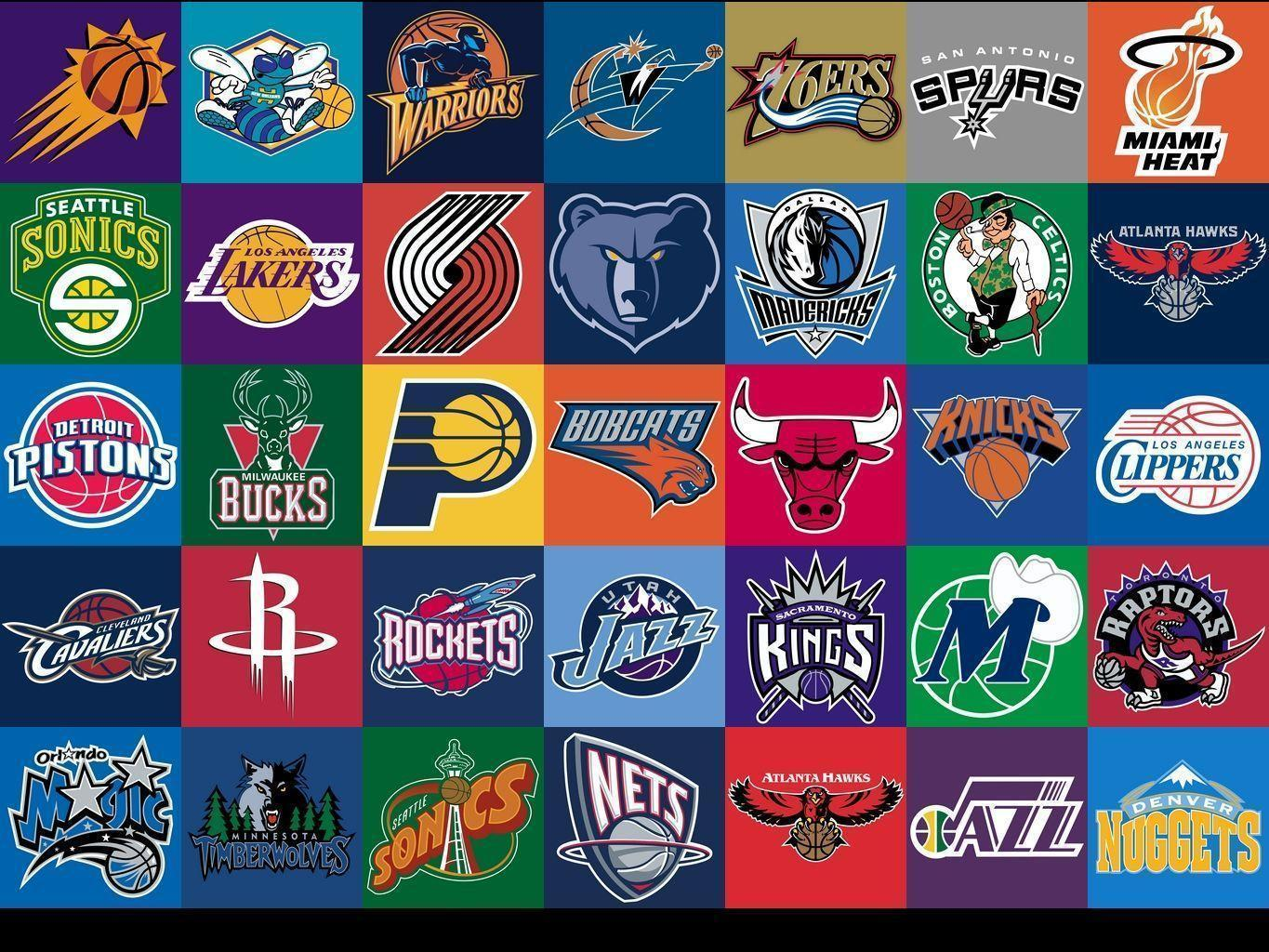 Nba team logos wallpapers 2017 wallpaper cave - Nba all teams wallpaper ...