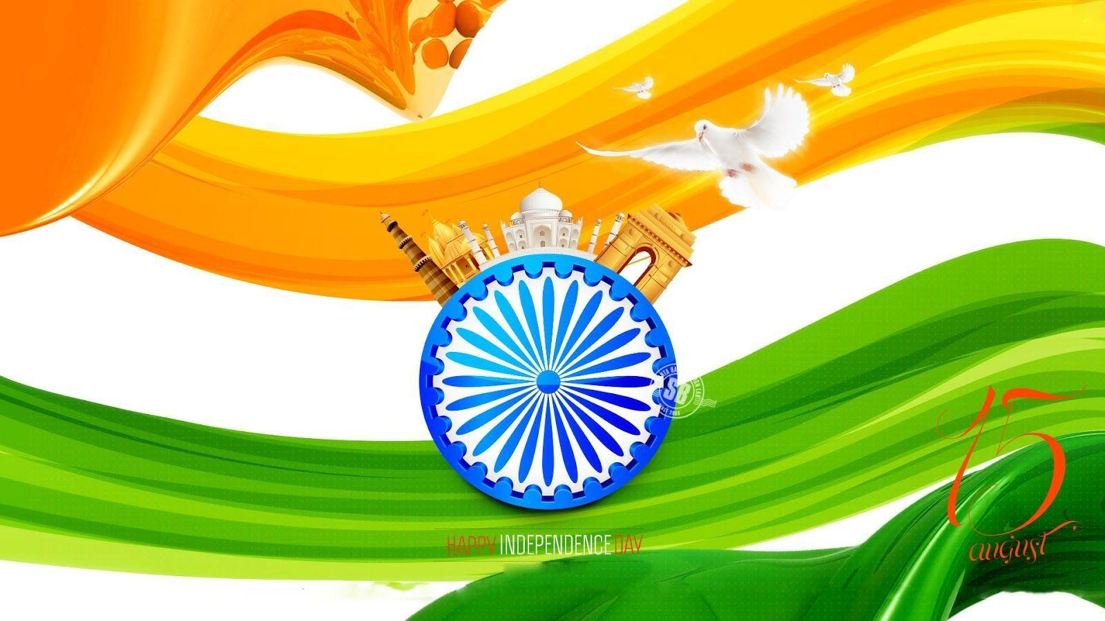 Independence Day Mobile Wallpapers: Indian Flag Mobile Wallpapers 2017