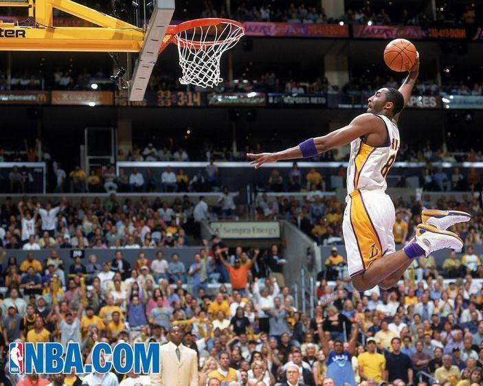 Kobe Bryant Slam Dunk, Sporty Wall Murals Theme for Sporty Kids