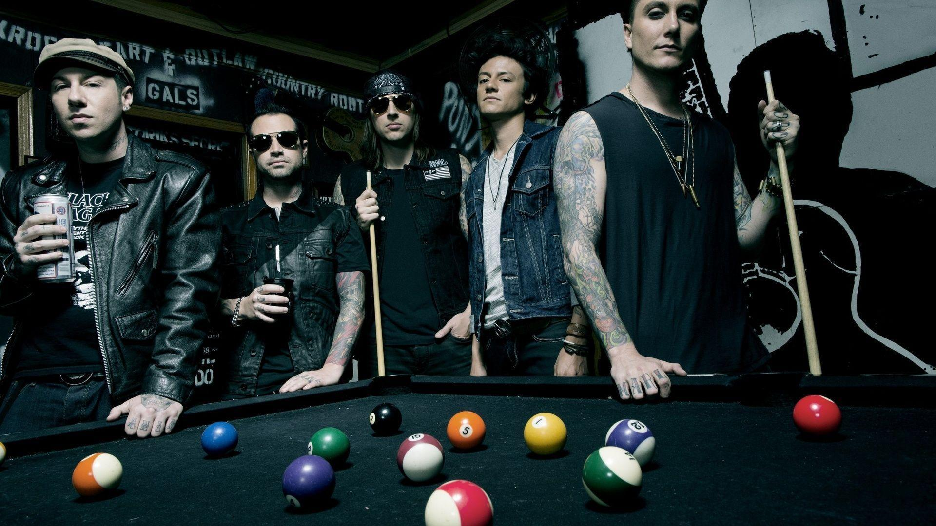 1920x1080 A7x Group Avenged Sevenfold Music Hard Rock Zacky