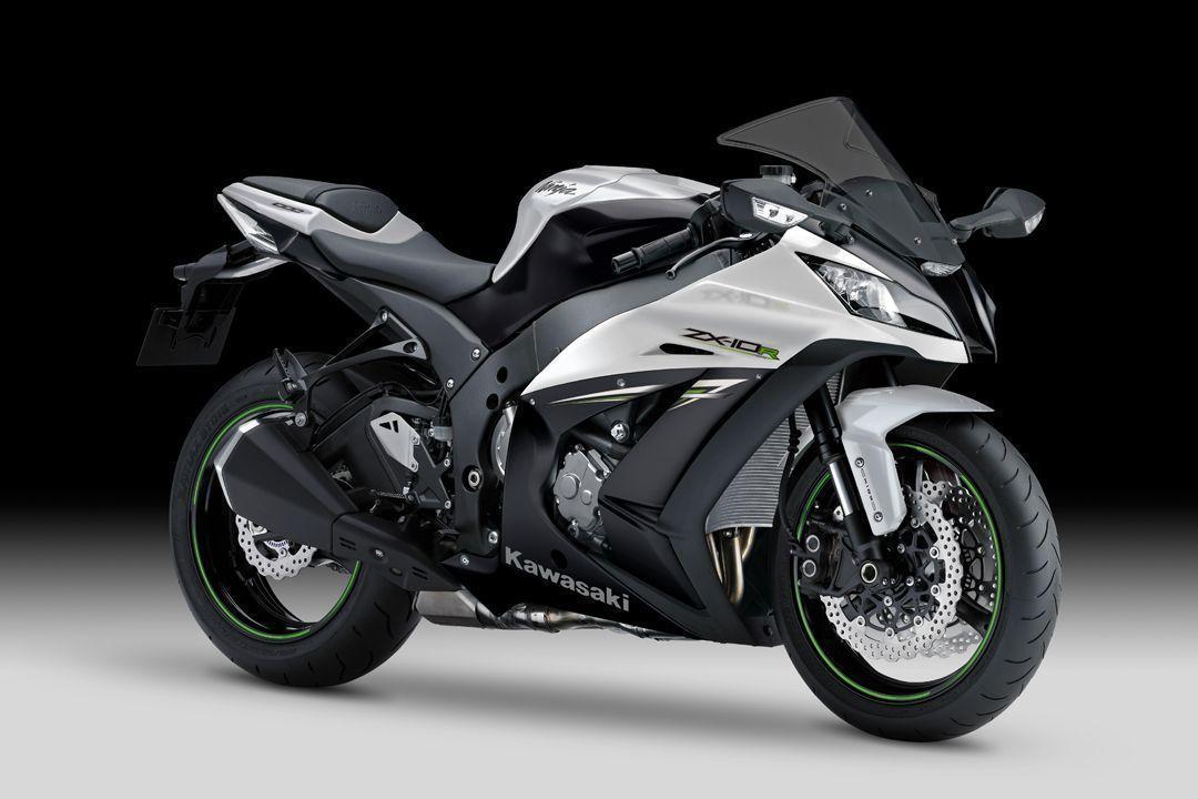 Kawasaki Ninja White Wallpaper