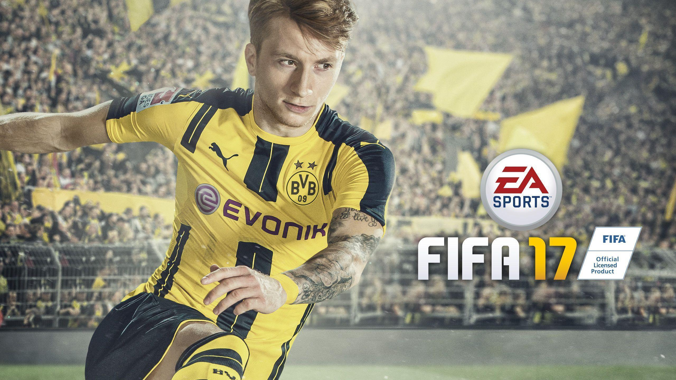 Wallpaper Marco Reus FIFA 17 EA Sports Football Game HD Games
