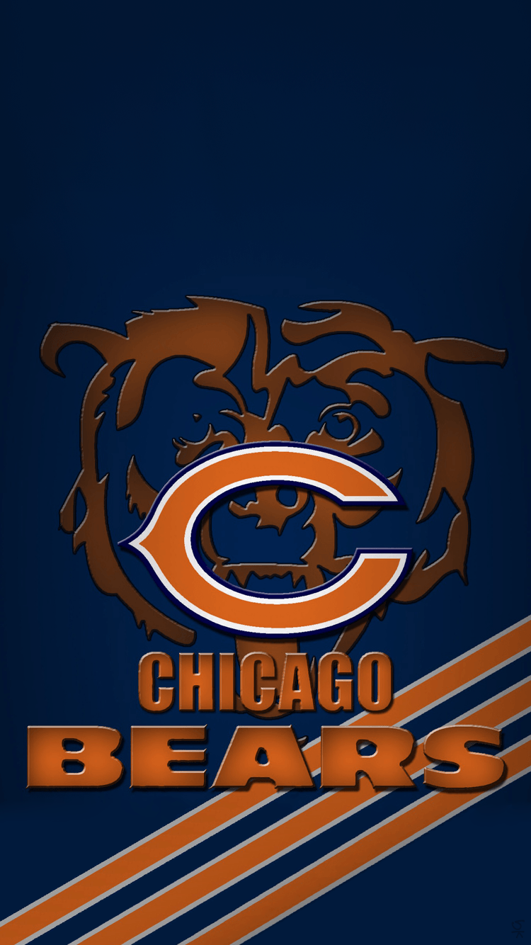 chicago bears wallpaper iphone 5