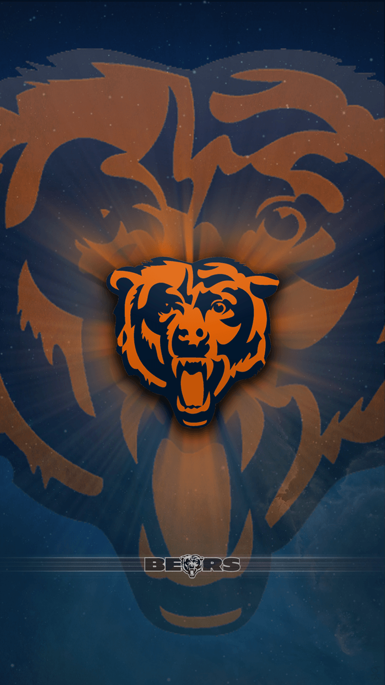 iphone wallpaper chicago bears