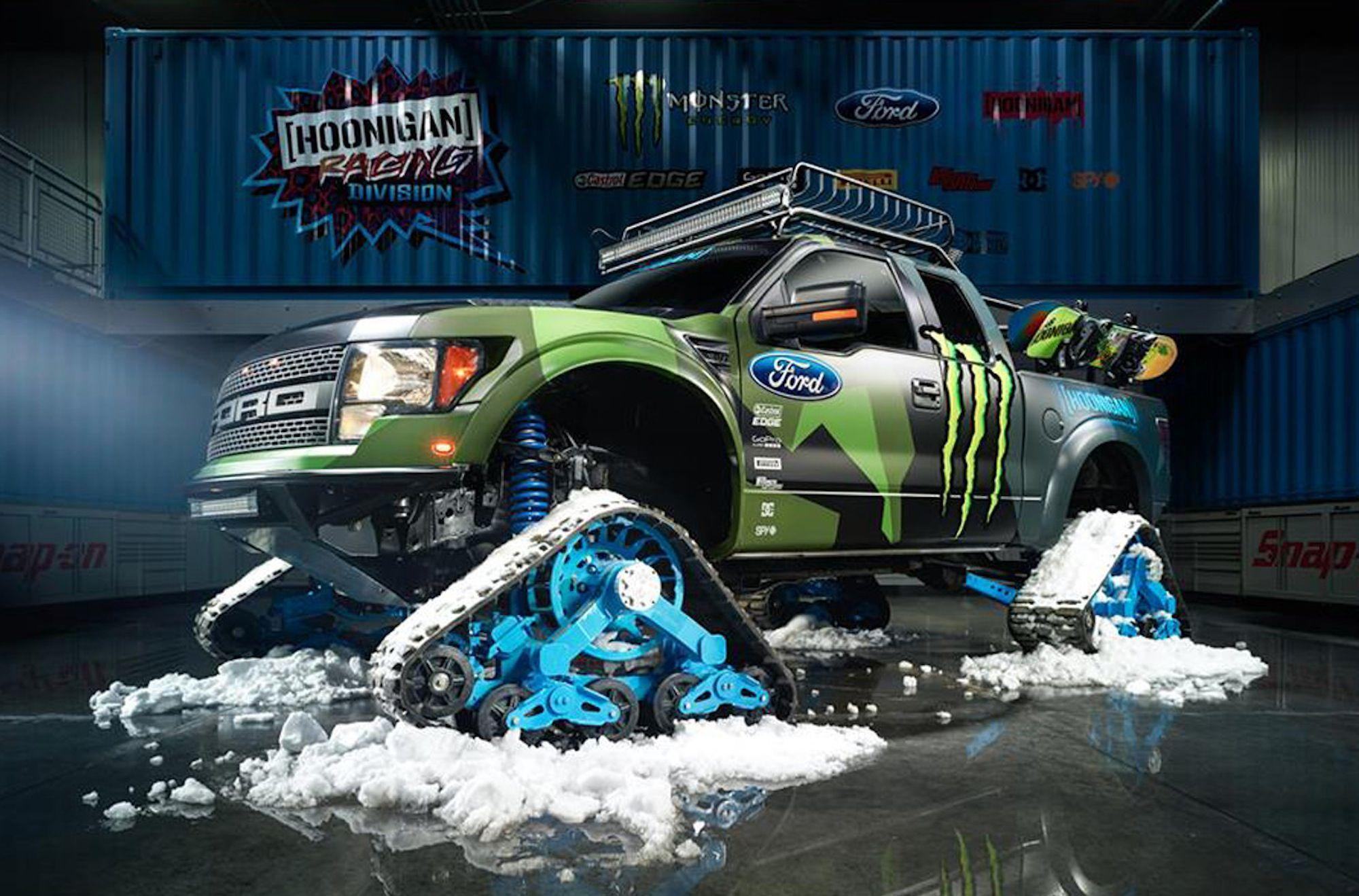 Ken Block unleashes Ford F