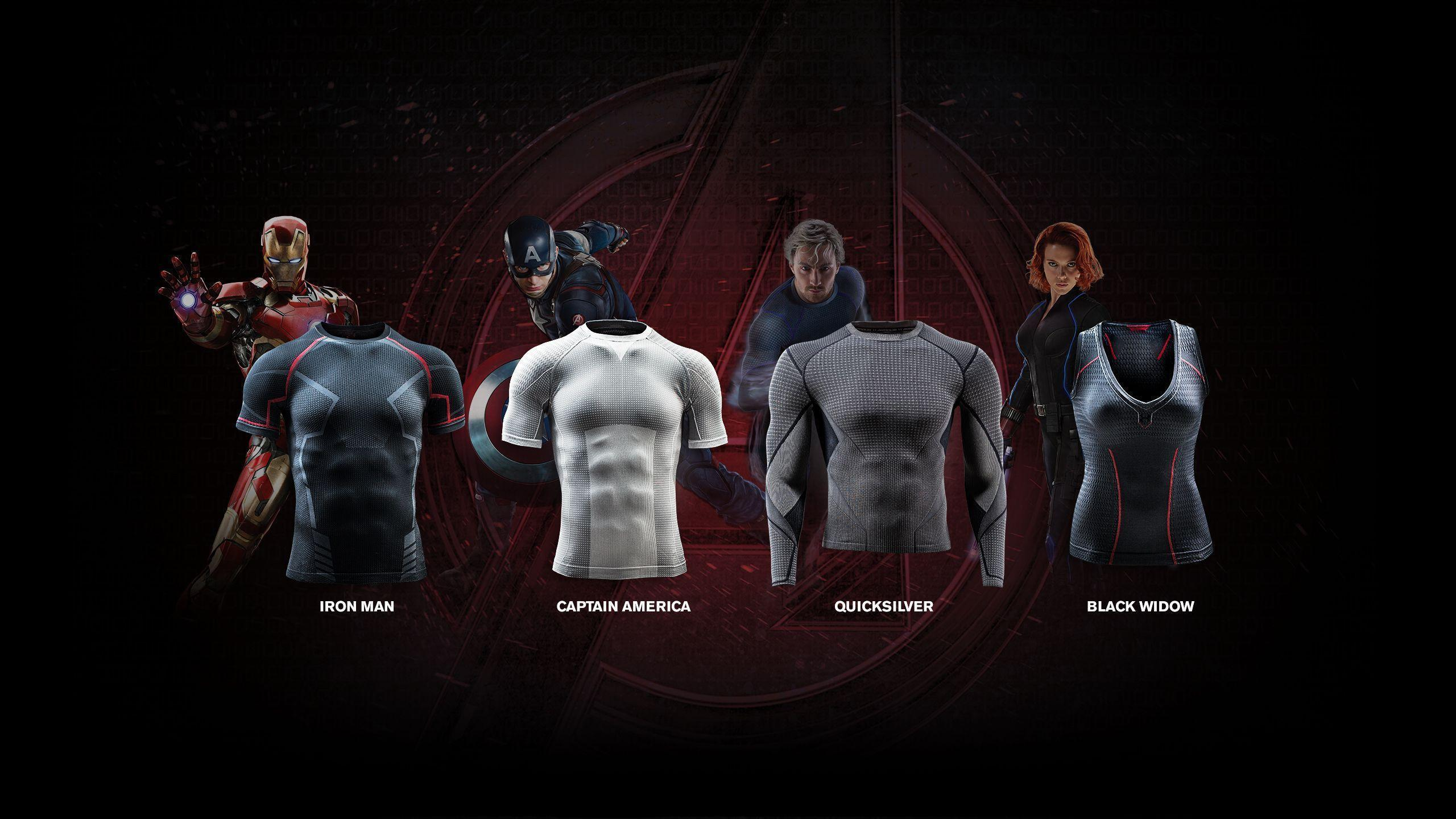 The Incredible, Tactical Undergarments Designed For The Avengers