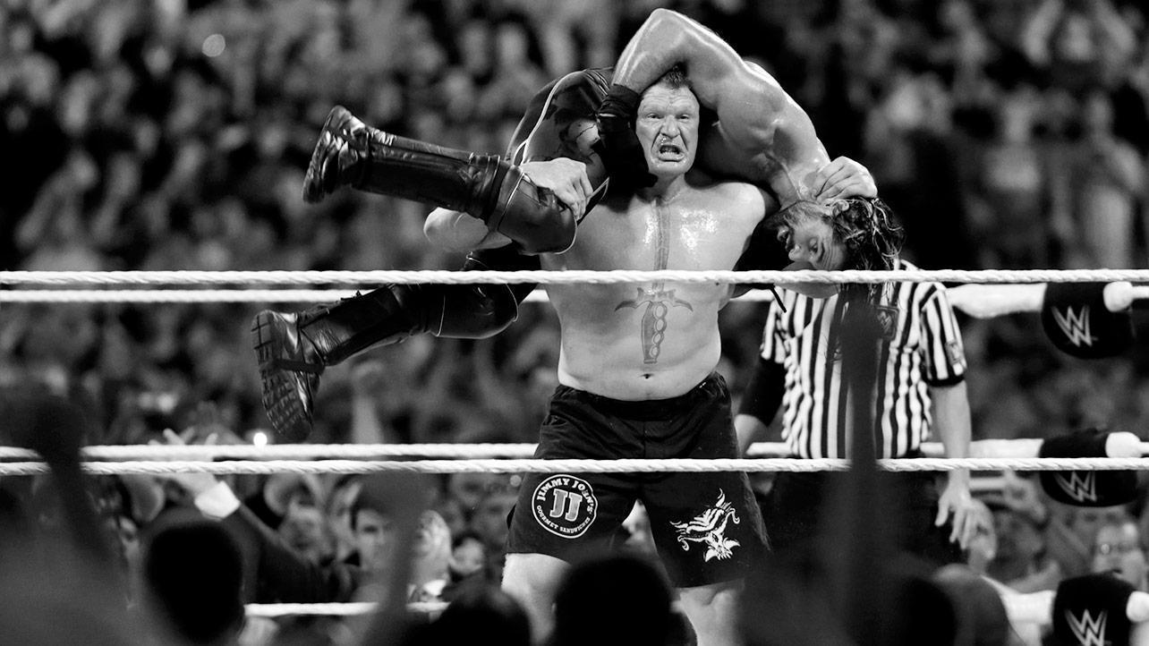 Brock Lesnar Fight WWE Wallpaper