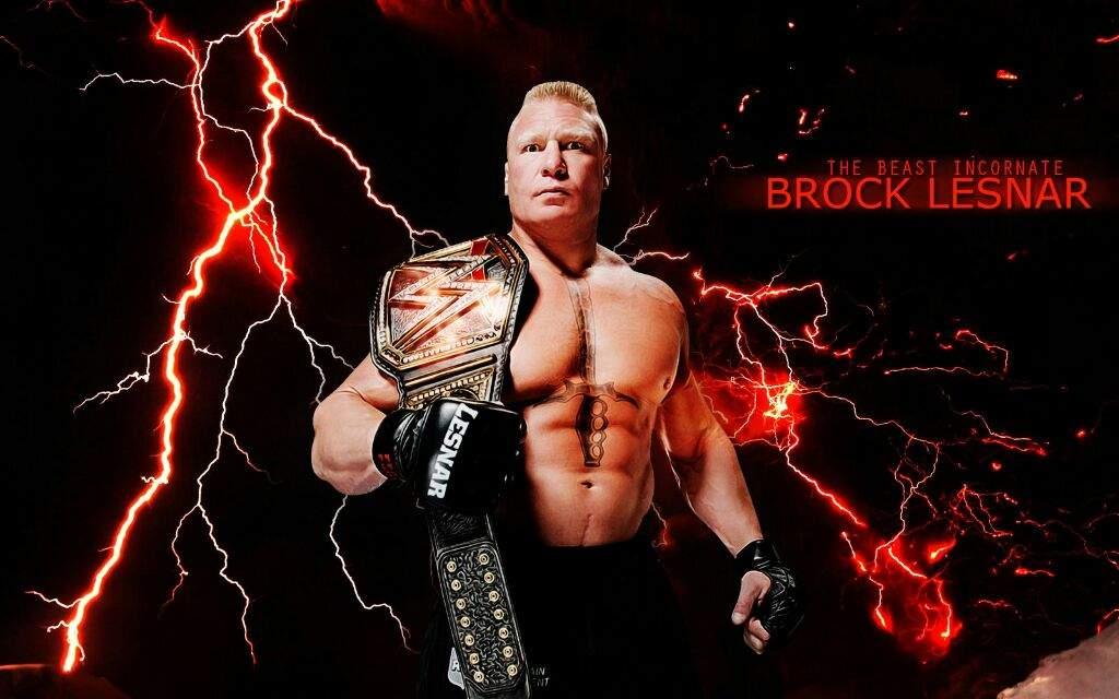 WWE Brock Lesnar 2017 Wallpapers