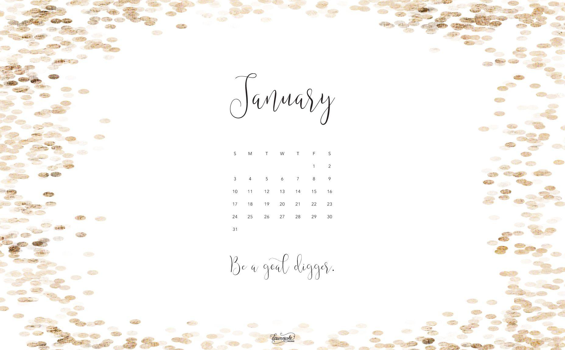 Cute January Calendar Wallpaper : Desktop wallpapers calendar january wallpaper cave