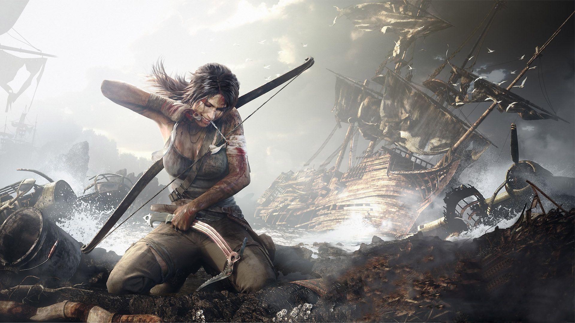 Tomb Raider 2017 Wallpapers HD - Wallpaper Cave Video Games 2017 Wallpaper Hd