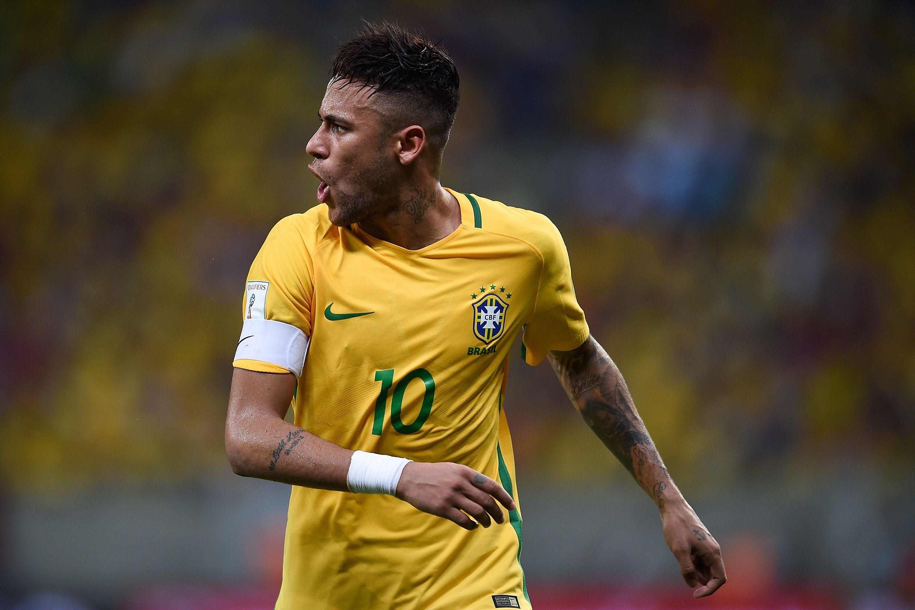 Neymar Brazil Wallpapers 2017 - Wallpaper Cave