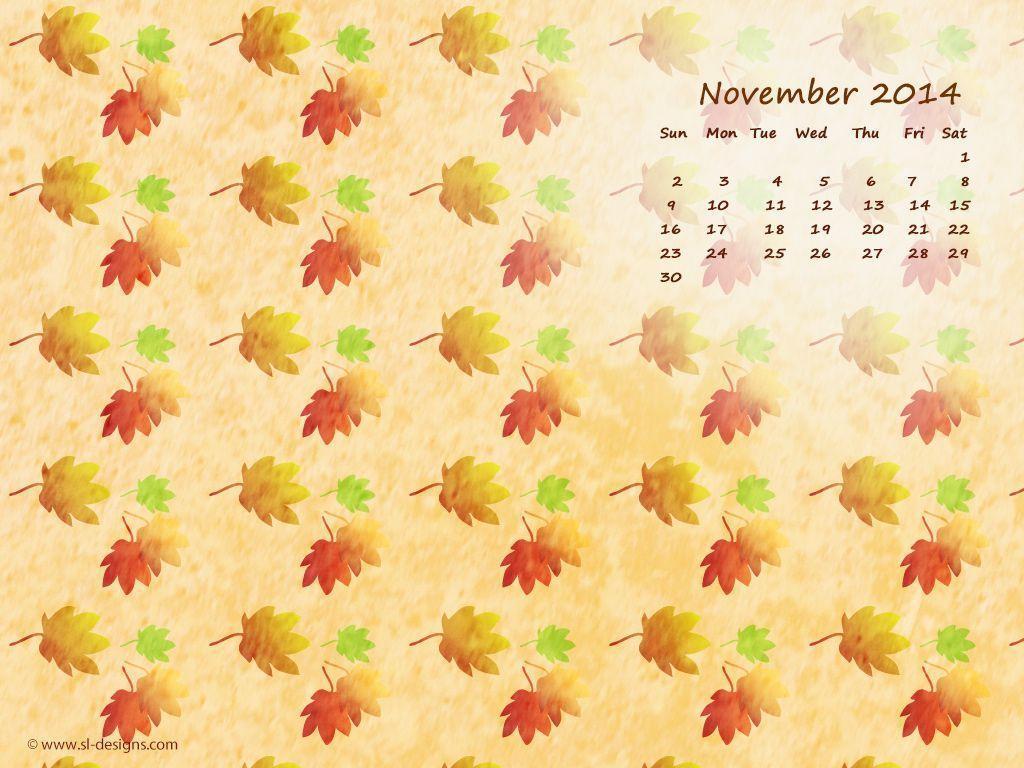 Cute November Calendar Wallpaper : Desktop wallpapers calendar november wallpaper cave