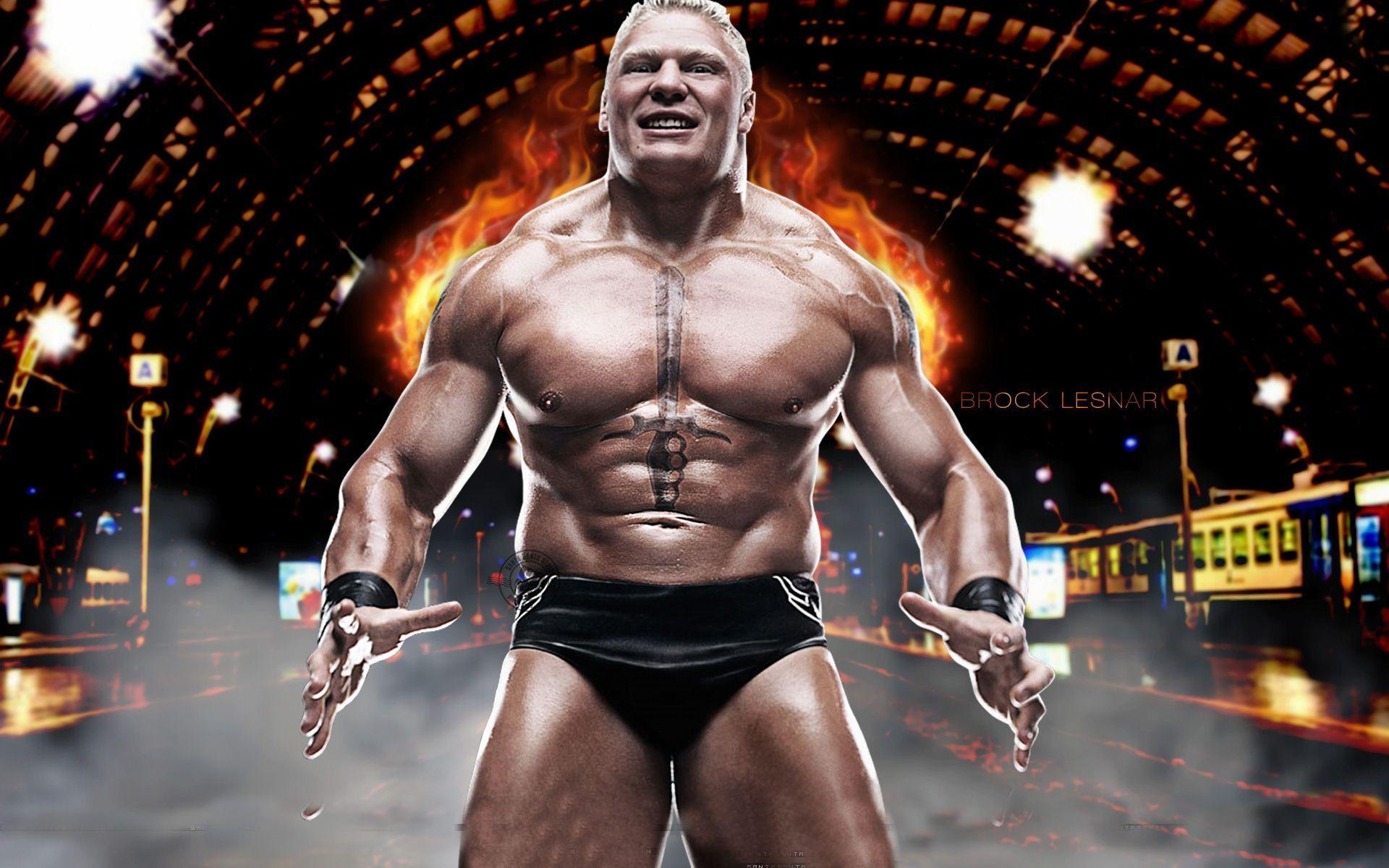 Brock Lesnar WWE 2016 Wallpapers 1024x768