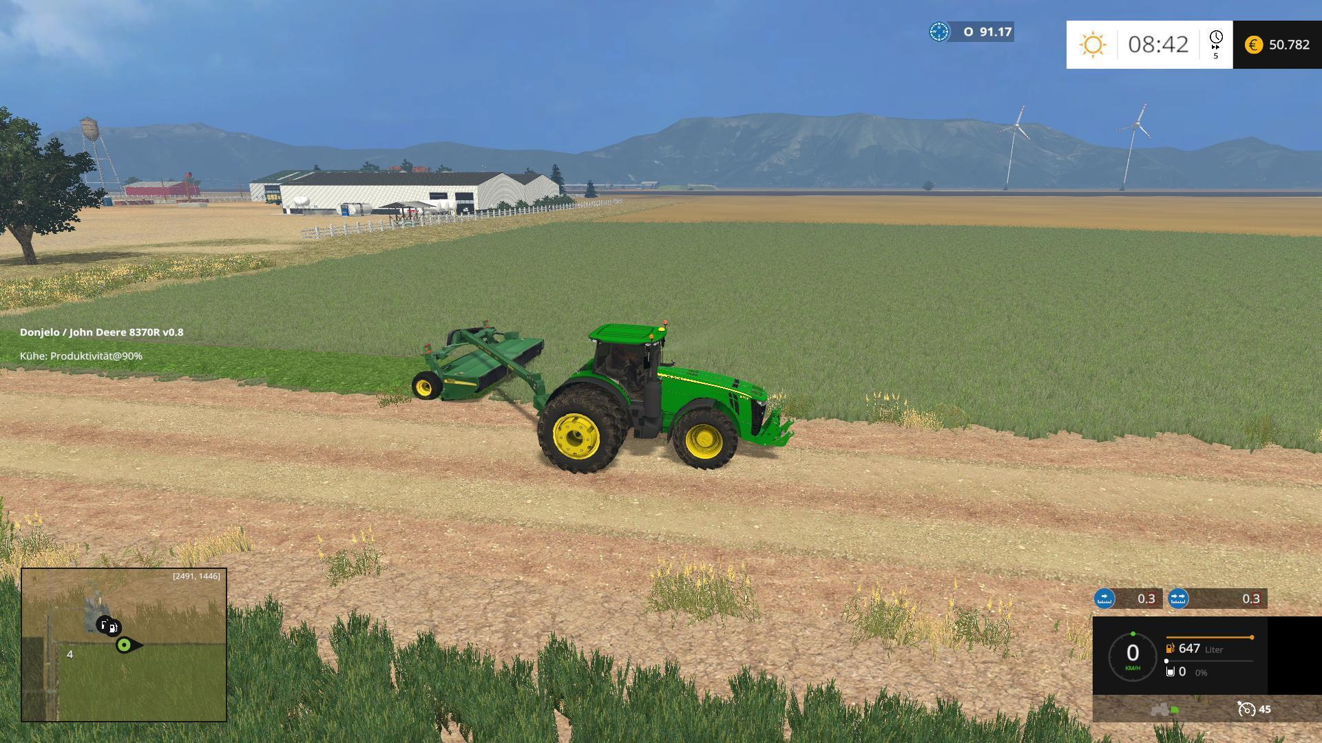 JOHN DEERE 8370R FROM AGROSKETCH FS2015