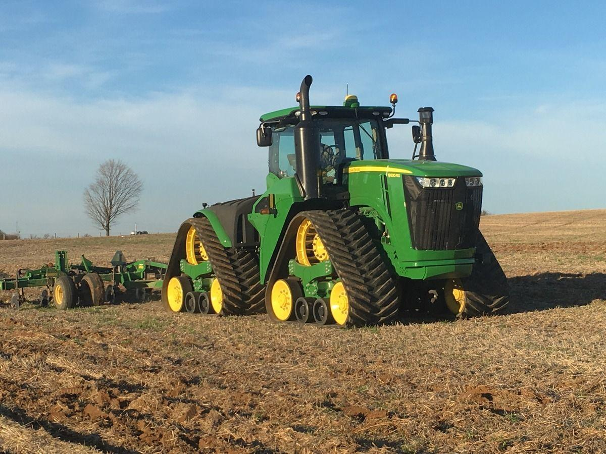 John Deere 9620RX at Work