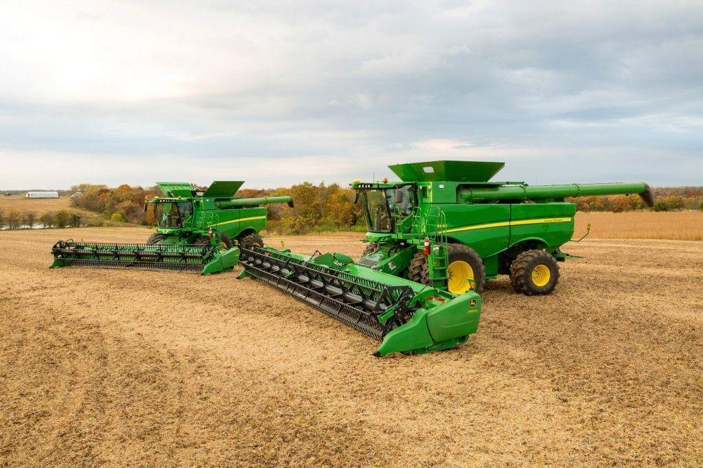 Presenting New John Deere Equipment for 2016