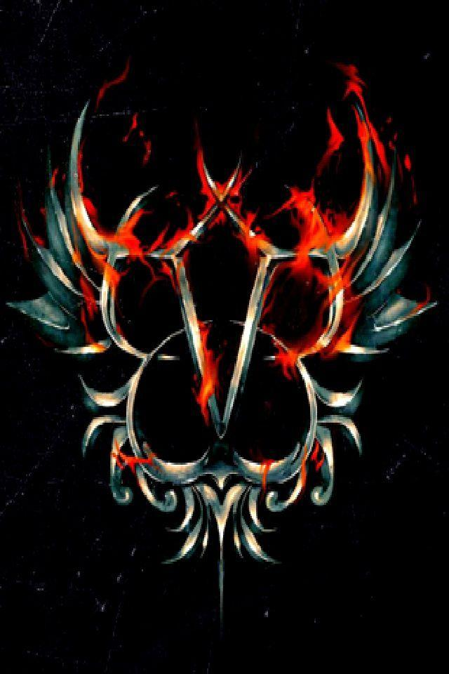 Pin Black Veil Brides Logo With Wings On Pinterest