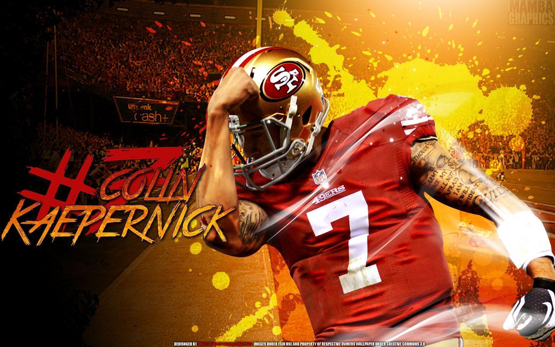 49ers | Colin Kaepernick 49ERS Wallpaper Desktop Background ...