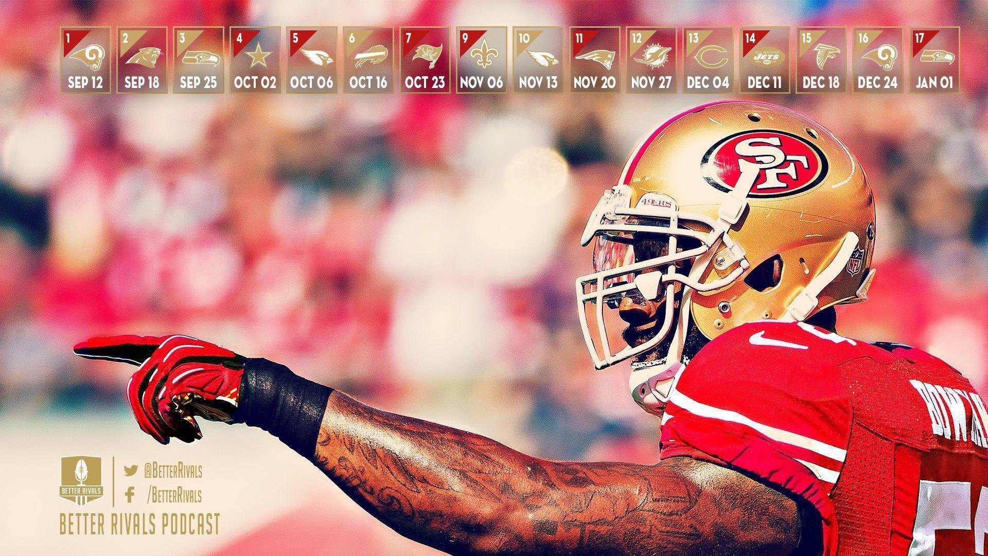 New 49ers Wallpapers for Desktop and Mobile - Niners Nation