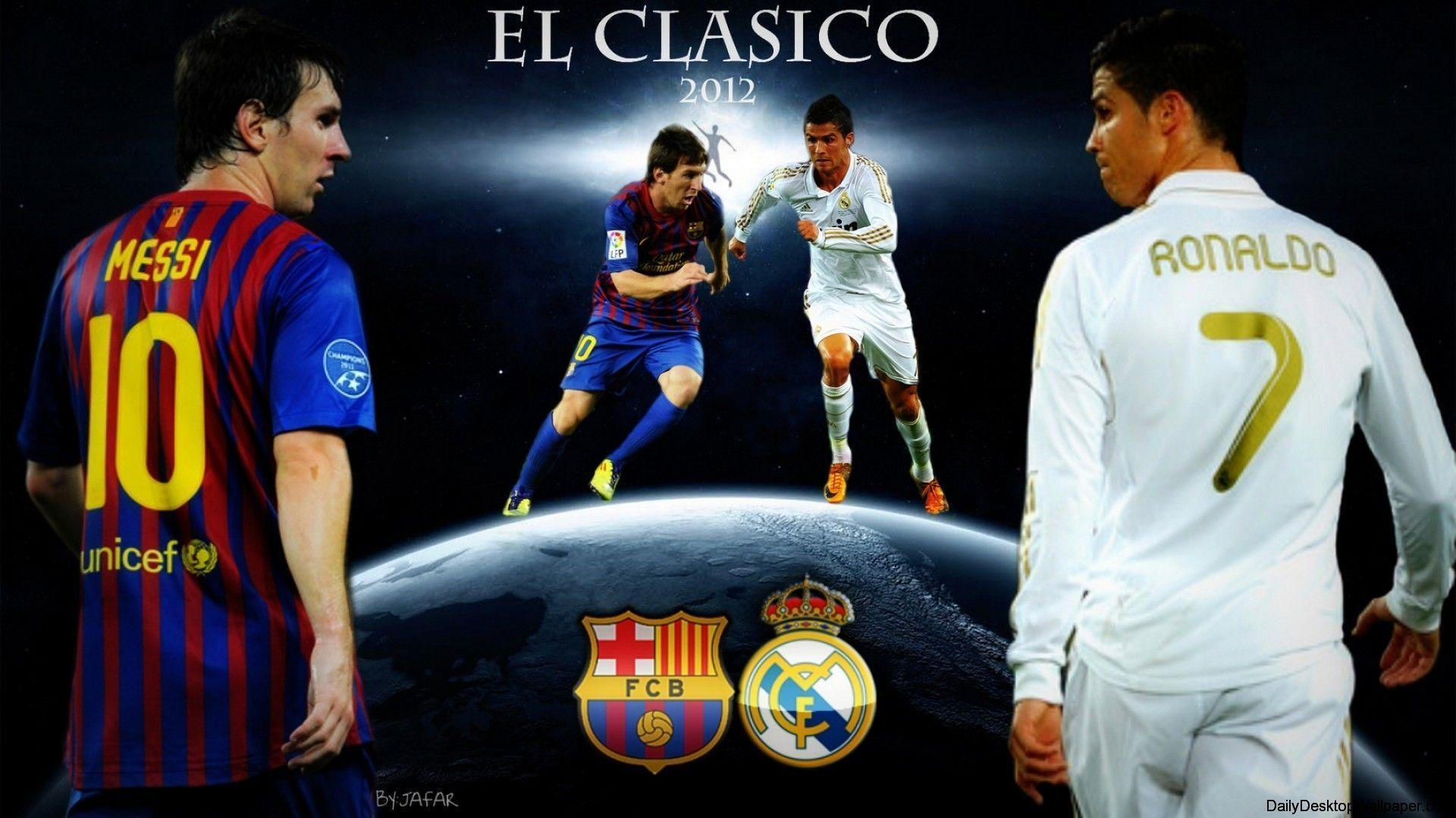 Messi Vs Ronaldo 2016 Wallpapers