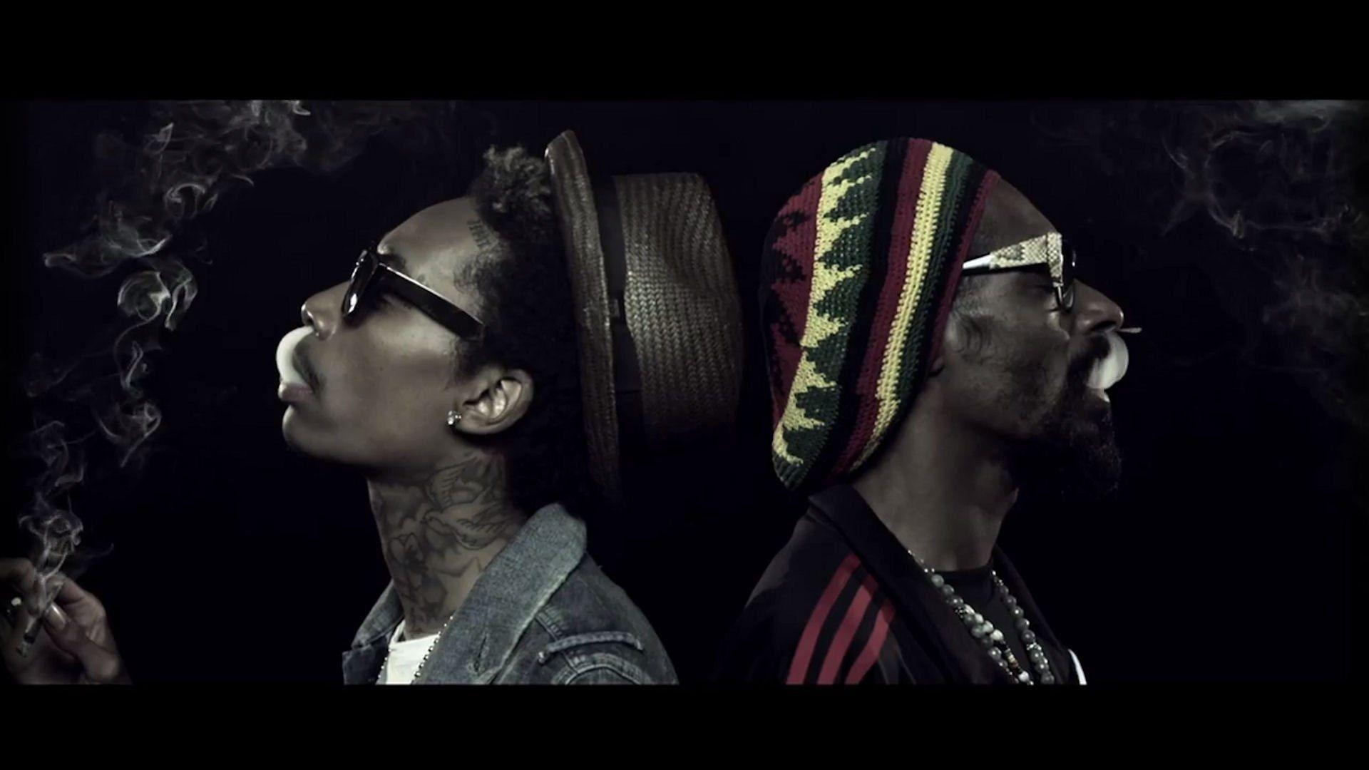 1920x1080 Wiz Khalifa Snoop Dogg Hip Hop Rapper Rap Singer