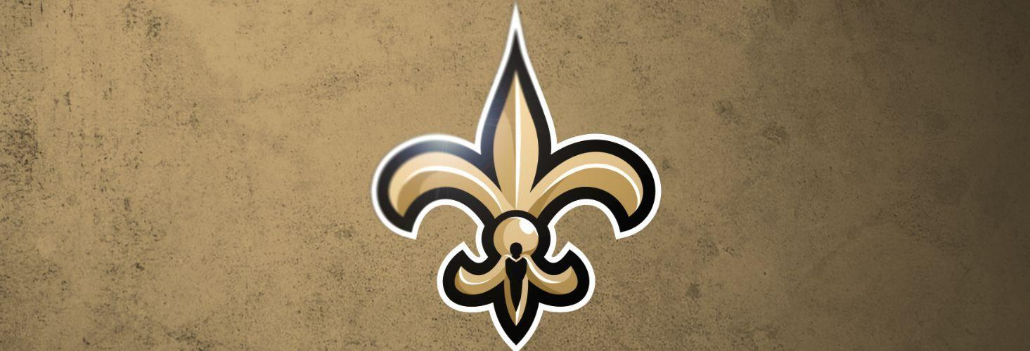 New logo for the New Orleans Saints exactly the same as the