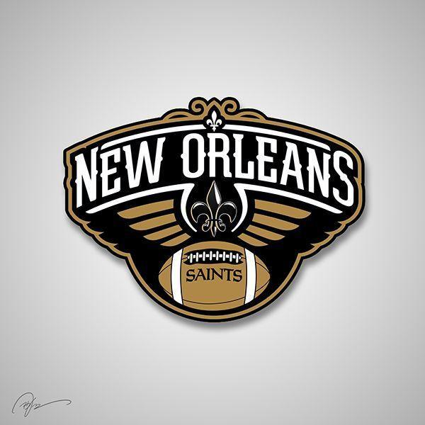 Merging NFL and NBA team logos