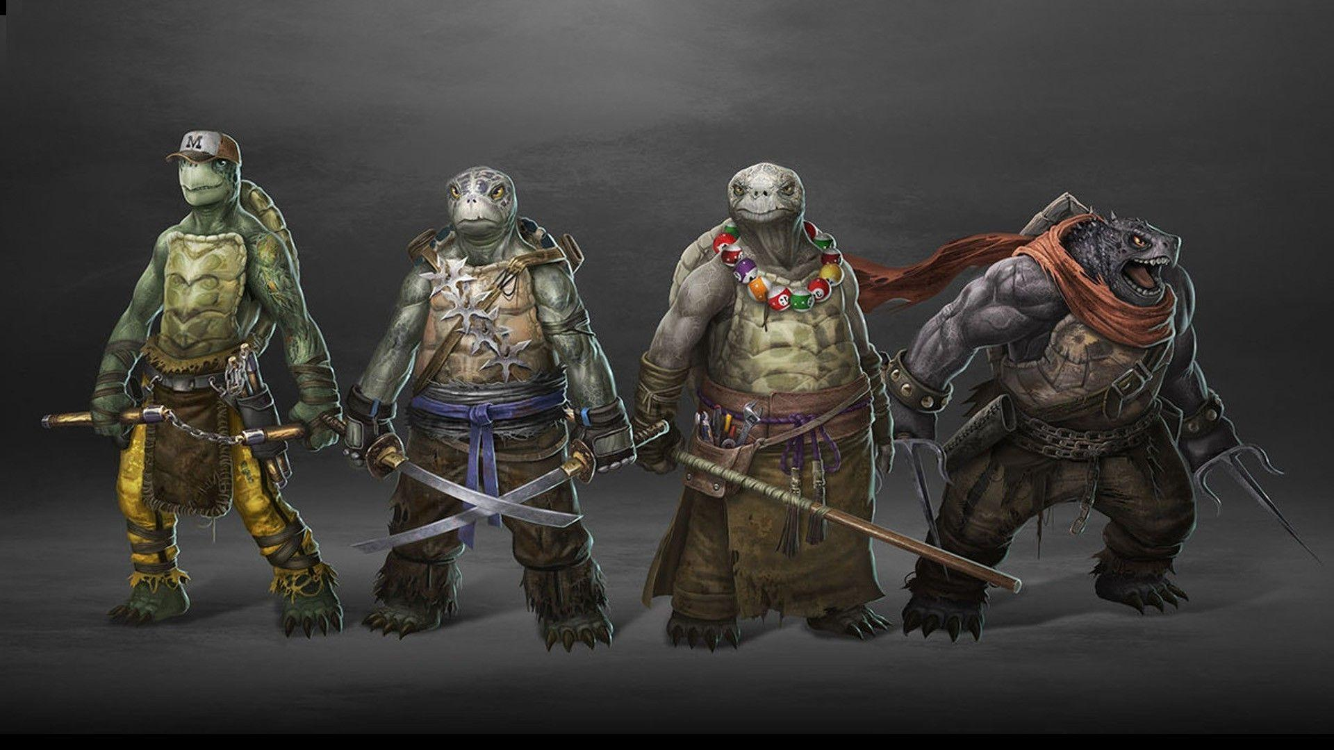 Teenage Mutant Ninja Turtles 2017 Wallpapers - Wallpaper Cave