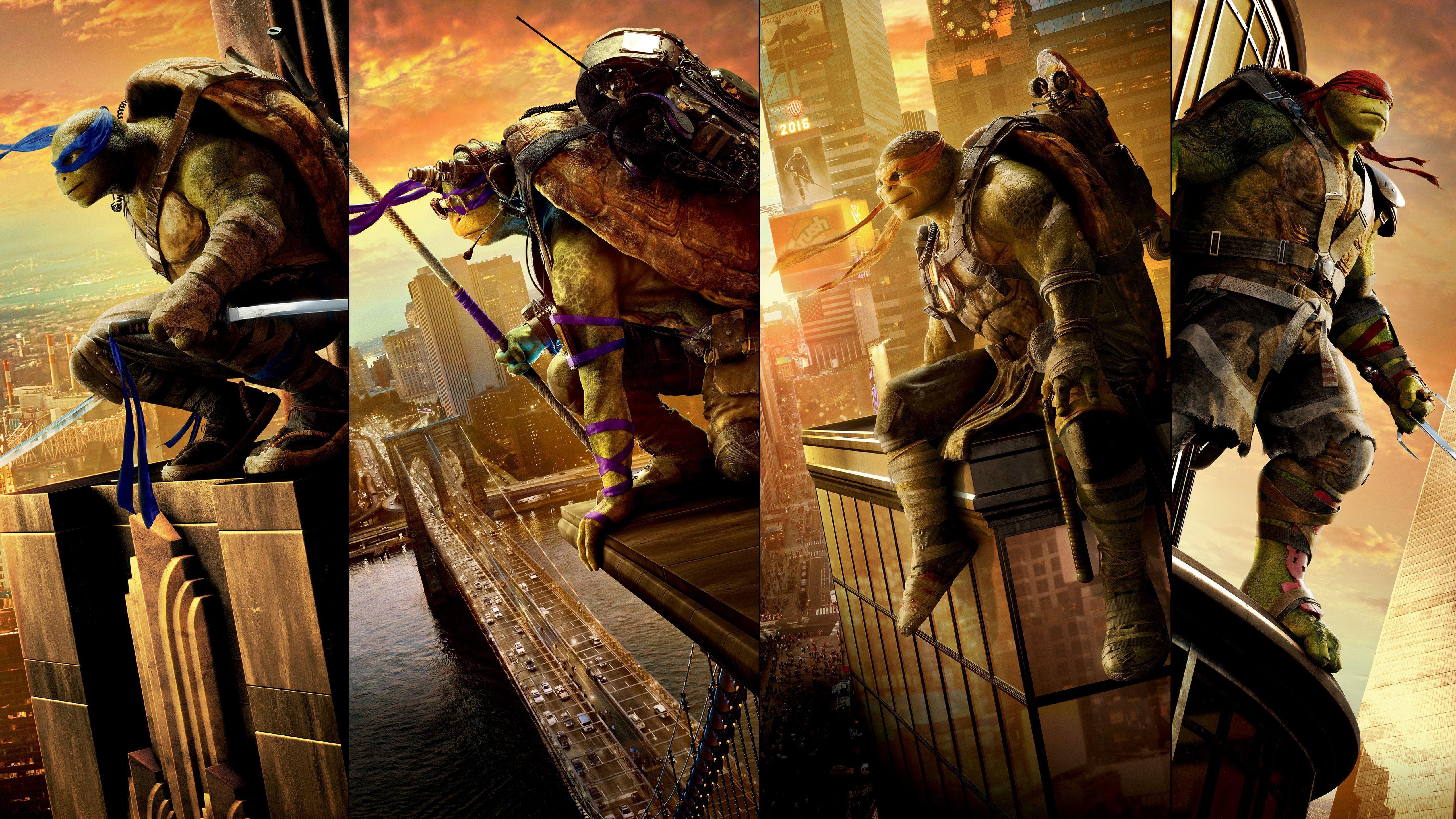 Teenage Mutant Ninja Turtles 2017 Wallpapers Wallpaper Cave
