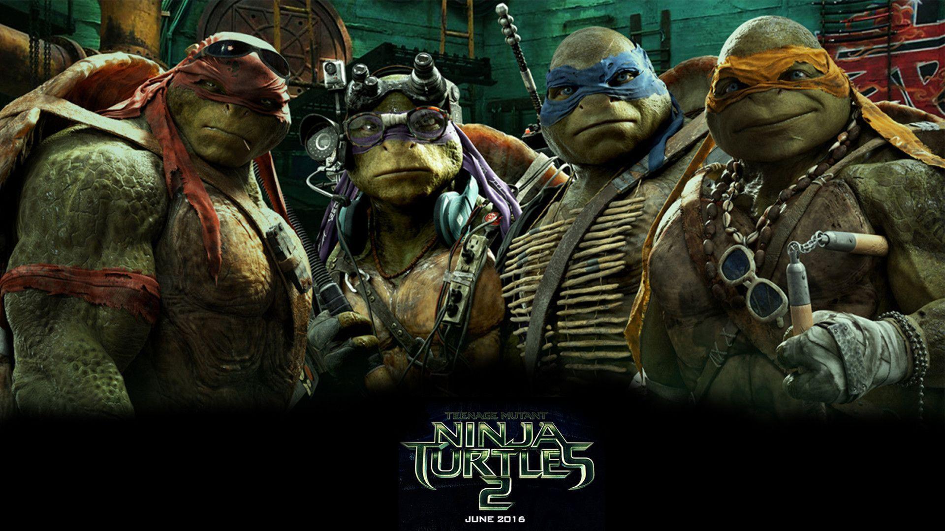 Teenage Mutant Ninja Turtles Out Of The Shadows Desktop Wallpaper .