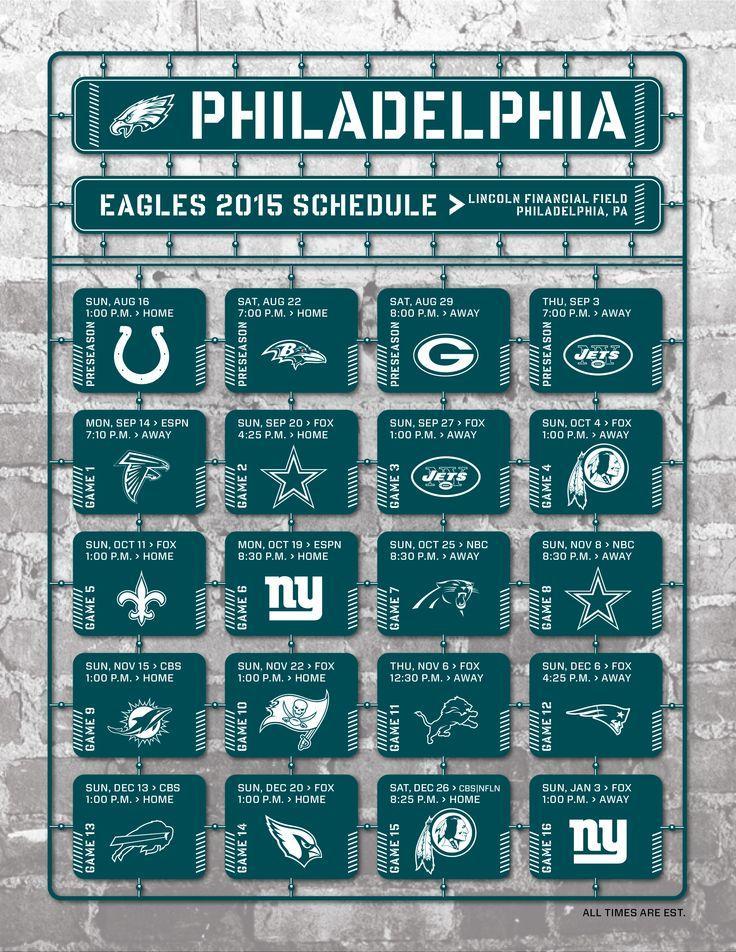 Philadelphia Eagles 2017 Schedule