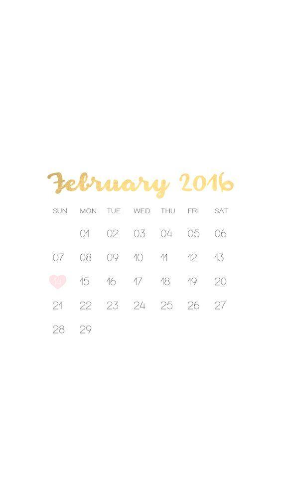 Calendar Lockscreen : Desktop wallpapers calendar february wallpaper cave